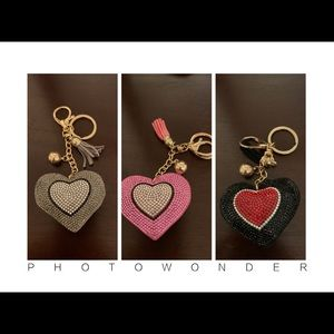 Accessories - Keychains with rhinestone